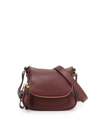 Jennifer Micro Crossbody Bag, Carnal Red