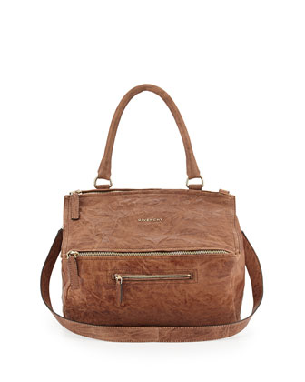 Pandora Medium Shoulder Bag, Medium Brown