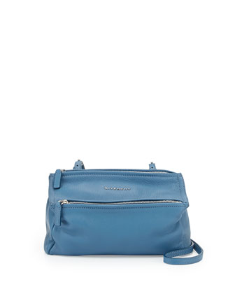Pandora Mini Crossbody Bag, Medium Blue