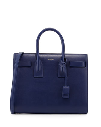 Sac de Jour Small Tote Bag, Bleu Royal
