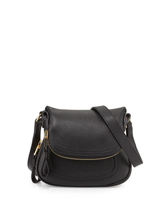 Jennifer Micro Crossbody Bag, Black