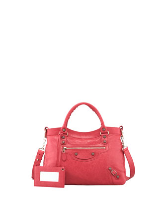 Giant 12 Nickel Town Bag, Rose Thulian