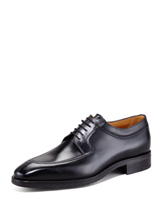 Five-Eyelet Blucher, Nero