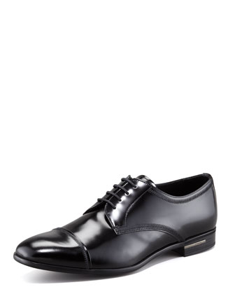 Cap-Toe Lace-Up Derby