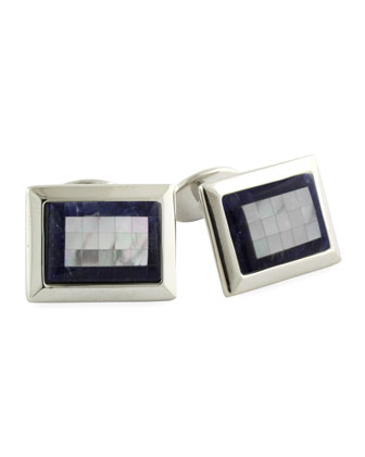 Mosaic Rectangle Cuff Link