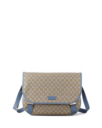 GG Stars Clip-Strap Messenger Bag