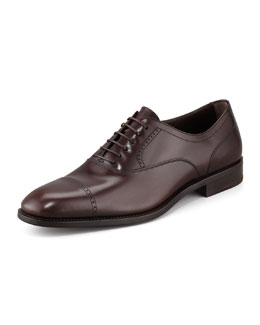 Salvatore Ferragamo Tony Cap-Toe Oxford Shoe