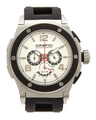 Regatta Yachting Edition Watch, Stainless Steel/White