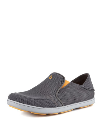 Nohea Mesh Slip-On Sneaker, Gray