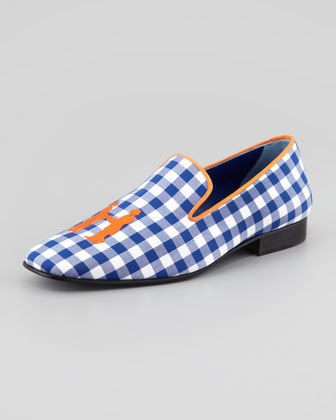 Drake Gingham Smoking Loafer