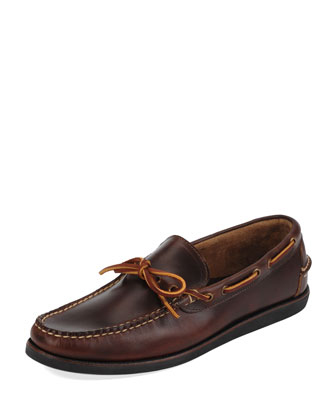 Yarmouth Boat Shoe, Brown
