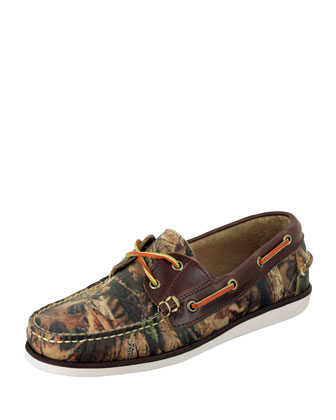 Freeport Realtree Camo Boat Shoe
