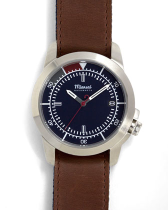M3 Automatic Watch, Cappuccino