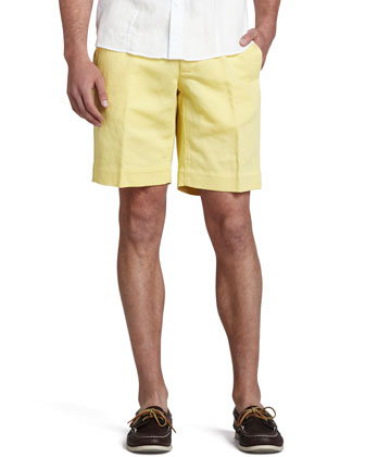 Chinolino Shorts, Yellow