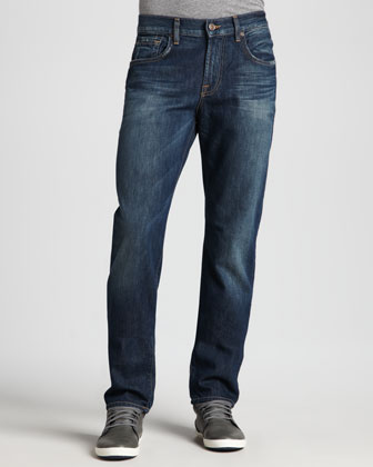 Standard Straight Jeans, Juniper Bay