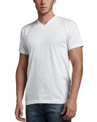 V-Neck Tees, Three-Pack