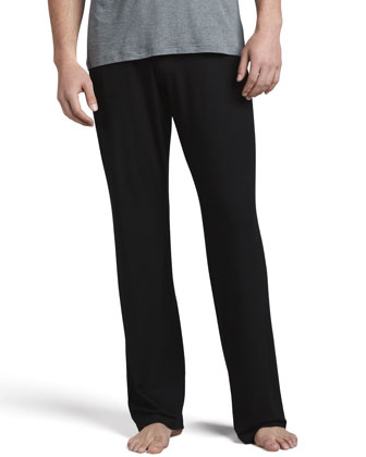 Basel 1 Jersey Lounge Pants, Black