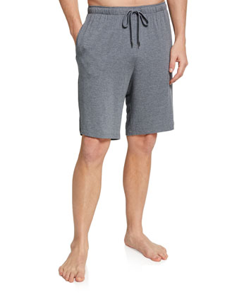Marlowe Jersey Shorts, Charcoal
