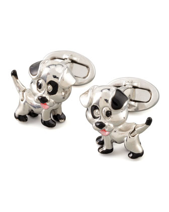 Puppy Cuff Links