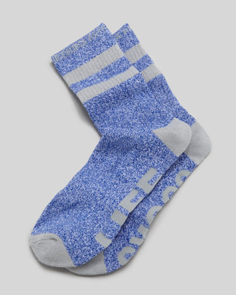 Life Socks Men's Socks, Navy/Gray