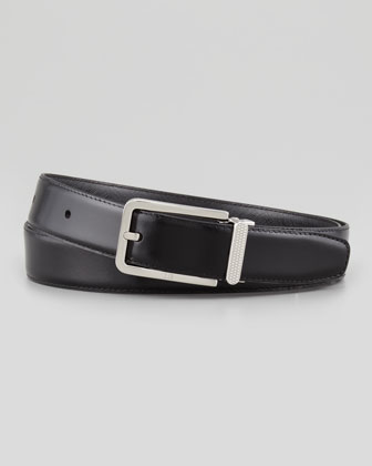 Scored-Keeper Leather Belt
