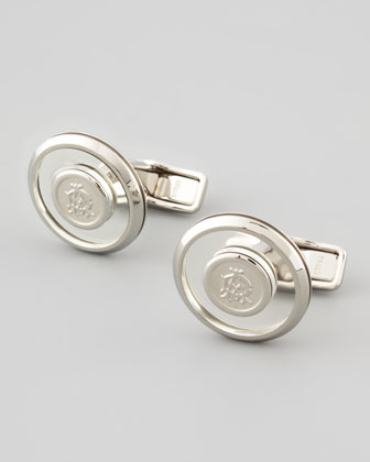 Iconic Floating Logo Cuff Links