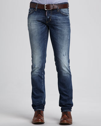 Slim Fit Five-Pocket Jeans