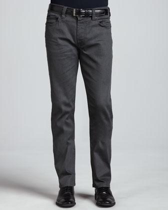 Denim Jeans, Medium Gray