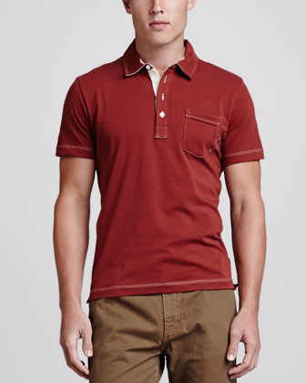 Pensacola Polo Shirt, Rust