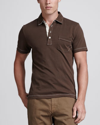 Pensacola Polo Shirt, Brown