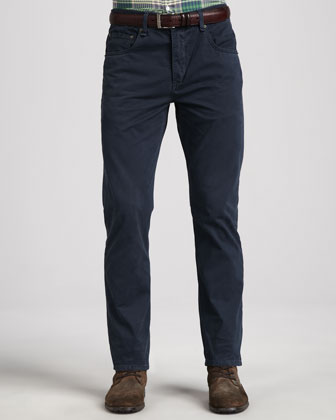 RB15 Twill 5-Pocket Pants, Navy