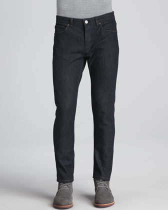 Stretch-Denim Jeans, Dark Blue