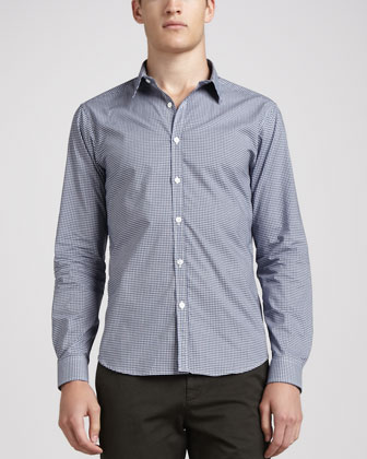 Zack Deliner Check Shirt, Blue