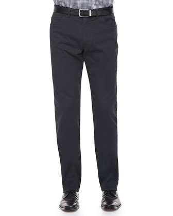 Five-Pocket Cotton Pant