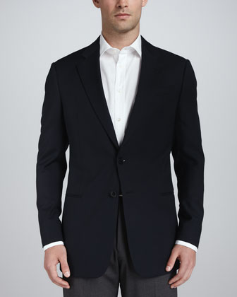 Two-Button Wool Jacket