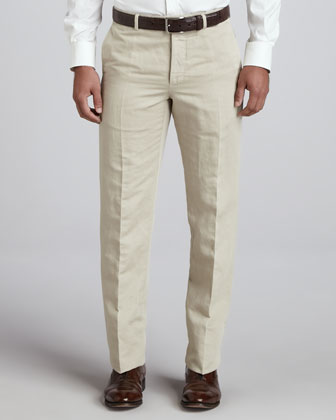 Straight-Leg Chino Pants