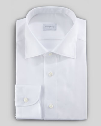 Royal Oxford Dress Shirt, White