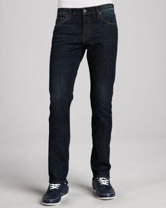Kane Dark Blue Basic Jeans