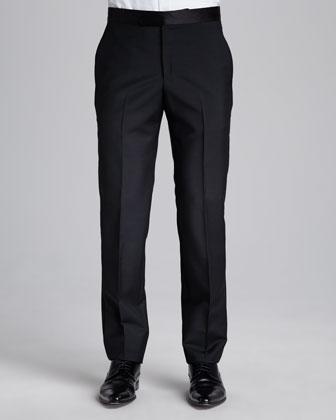 Tuxedo Pants, Black