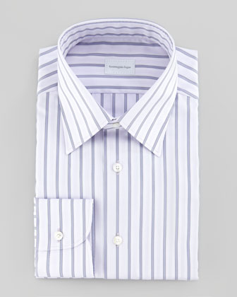 Wide Multi-Stripe Shirt
