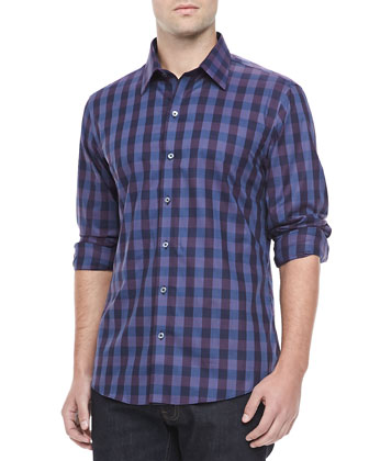 Clougherty Check Sport Shirt