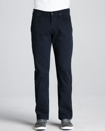 Byron Over-Dyed Pants, Navy