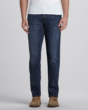 Byron Harris Zip-Fly Jean, Blue
