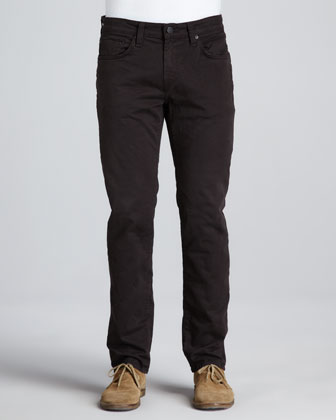 Kane Twill Pants, Dark Brown