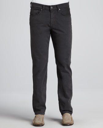 Kane Twill Pants, Charcoal