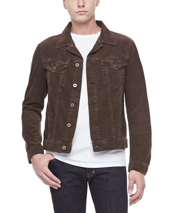 Corduroy Jacket, Brown