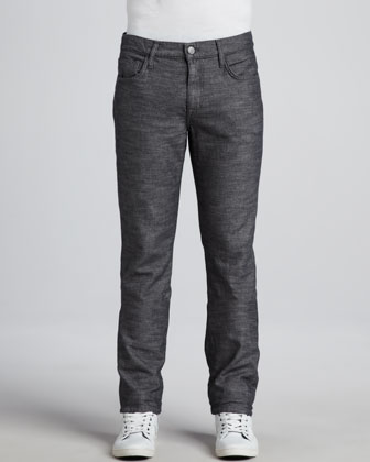 Brixton Korbin Textured Pants, Dark Gray