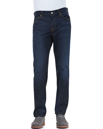 Austyn Midnight Moon Five-Pocket Jeans, Navy