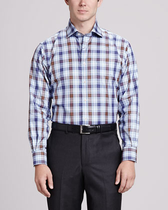 Goodwood Plaid Shirt, Mulberry
