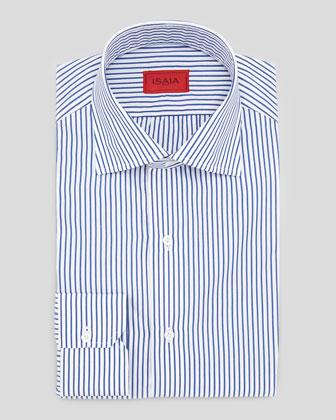 Clear Blue Striped Shirt